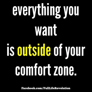 #nocomfortzonesallowed